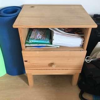 IKEA Tarva Bedside Table with Drawer