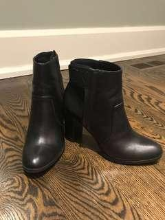 Calvin Klein Black Heeled Booties