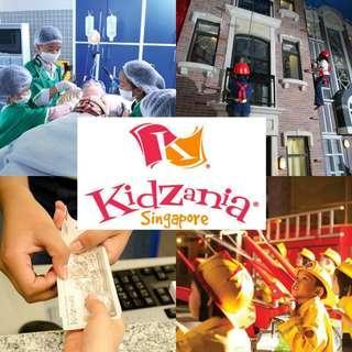 Kidzania Open Date tix😍