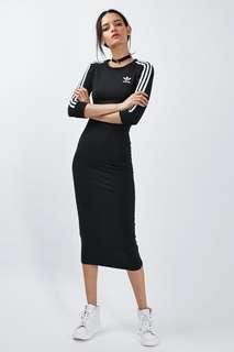 Adidas maxi fitted dress XS