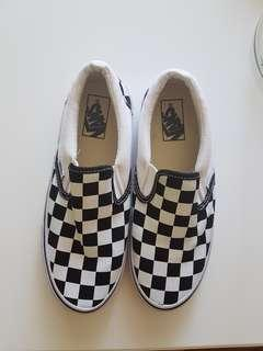 Brand New Shoes - checkerboard