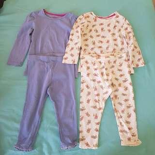 Mothercare Pajama bundle