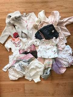 Baby girl bundle size 0000-000 (newborn to 0-3 months)
