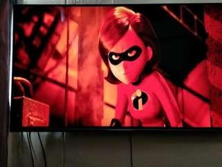 58 inch Philips 4k UHD TV (With warranty)