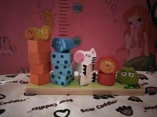 Shapes and colors toy