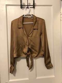 Aritzia Peaufiner blouse size XS
