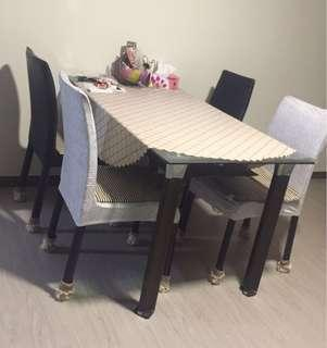 Dining Table And Chairs - need clear Asap