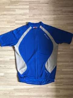 CYCLING JERSEY BLUE