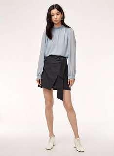 BNWT Aritzia Wilfred Dorine Wrap Skirt Size 4