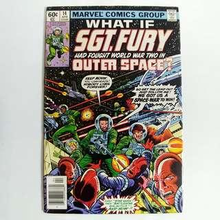 What If #14 (1979) Sgt. Fury and his Howling Commandos had Fought World War II in Outer Space - Marvel Comics / Bronze Age