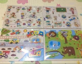 Brand new Wooden Puzzles