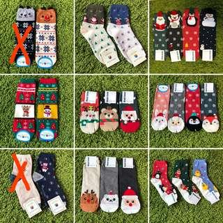 Christmas Korean socks