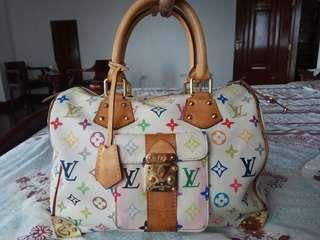 Lv speedy 30 White Multicoloured