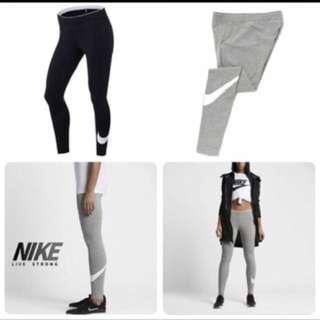 Nike 運動褲 黑色 內搭褲 m號 偏大