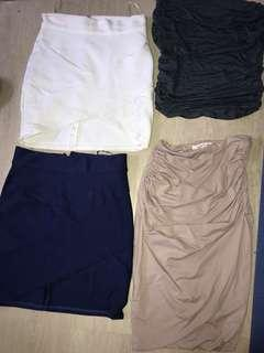 skirts (see description)