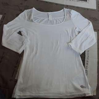 Levis 3'4 cotton top