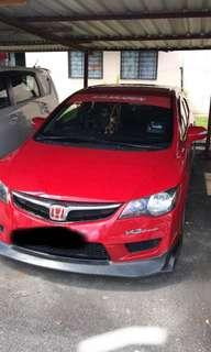 SEWA BELI  HONDA CIVIC FD 2.0 AUTO YEAR 2009/2010 MONTHLY RM 1055 BALANCE 7 YEARS ROADTAX NEW LEATHER SEAT PADDLE SHIFT TIPTOP CONDITION  DP KLIK wasap.my/60133524312/fd2.0