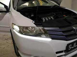 LED soft strip for headlight