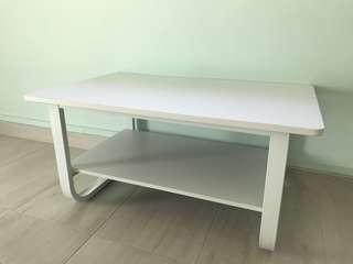 (Display set ) double layer coffee table