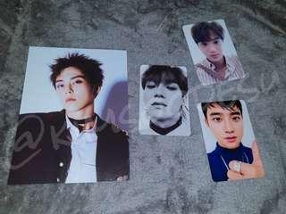 EXO TEMPO PHOTOCARD   Kai, Chen, D.O Kyungsoo, Xiumin