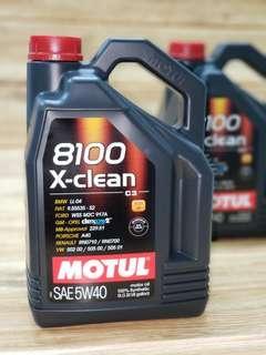 Motul Xclean 5W40 C3 全合成機油偈油