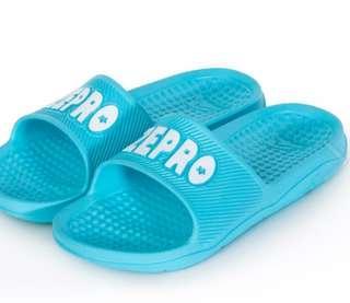 🚚 【ZEPRO】男女款休閒拖鞋-LIGHT系列-湖藍