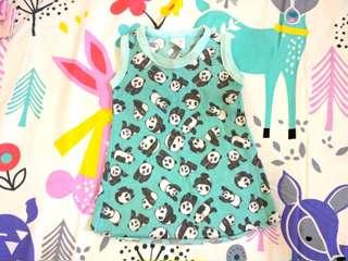Baby Panda's Mini Dress