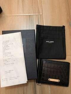 Saint laurent paris 95%new wallet 錢包