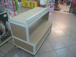 Snack Display Small Movable Kiosk ( Boltless ) Custom Made