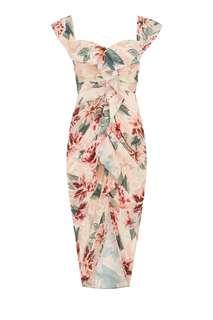 SHEIKE off shoulder floral dress