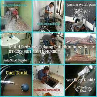 Bangi plumbing Service and Bumbung Bocor WAN 0132820501