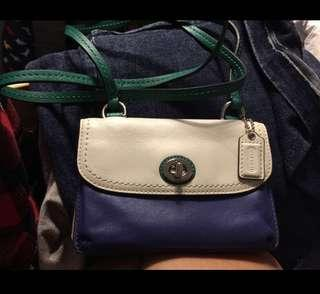 Coach wallet sling bag