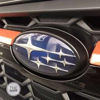 c30fa4e0fd47 Subaru XV Side Door Logo Emblem Plastidip Spray Service Plasti Dip