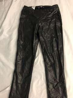 Like new Mavi faux-leather tights