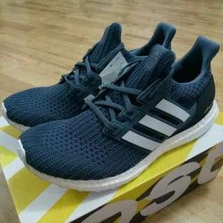 🔥UK8,9,10🔥 Adidas Ultra Boost 4.0 Show Your Stripes Navy Blue Tech Ink