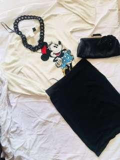 Mickey and Minnie Mouse's Tshirt Part 2