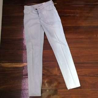 H&M Light Wash Jeans Skinny Ankle Size 24