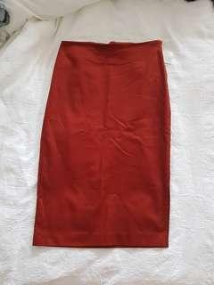 Basic Pencil Skirt Size 6