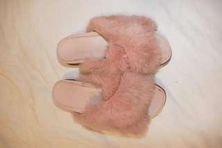 Fluffy shoes