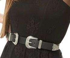 Forever 21 Double Buckle Belt