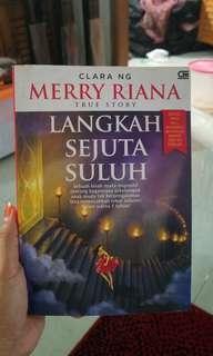 Buku Merry Riana Langkah Sejuta Suluh