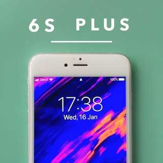 The Silver iPhone 6S Plus (64GB)