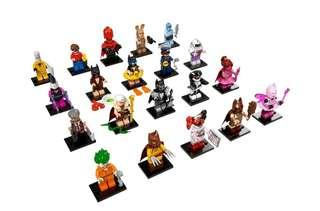 Lego Batman Movie Minifigures 71017