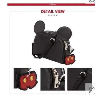 Gracegift x Disney Black Slingbag