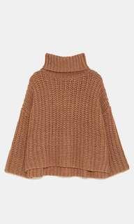 Zara oversized chunky sweater