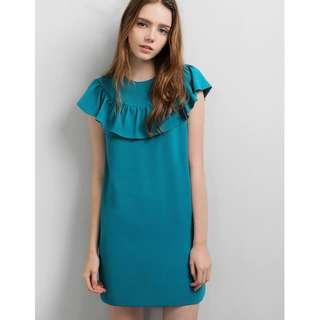 Saturday Club - Marne Dress - color : Teal