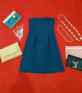 OLD NAVY Cocktail & Party Blue Dress