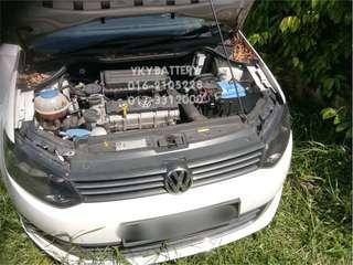 Kereta Bateri Volkswagen Polo , Camel MF DIN55