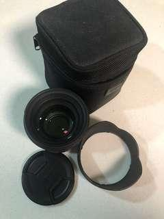 Sigma 50mm f/1.4 EX DG HSM Lens for Nikon Cameras