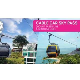 Clearance Sale- Cable Car( Round Trip) Includes Mount Faber & Sentosa Line- Everything must go
